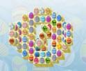 Itt a húsvéti mahjong, megérkezett! Ne felejts el játszani még az ünnep alkalmával sem!  Igazán dizájnos tojásokra cserélték a klasszikus köveket, de játék természetesen így is remek szórakozást nyújt.