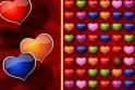 Színösszerakó Bálint Napra! Rakd össze a szíveket színek szerint! Vigyázz, egyre többféle szívet kapsz!