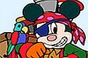 Pirate Mickey Coloring