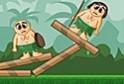 Ki kell iktatnod az ellenséges harcosokat Angry Birds stílusban!