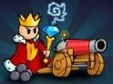 Itt a király és hadat üzen mindenkinek az ágyújával! Ügyességi játék, melyben a nehézfegyverrel kell elintézned az ellenséget.