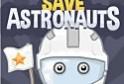 Védd meg a halálsugártól az űrhajósokat! Barikádozd el őket!
