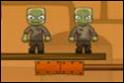 Iktasd ki az összes zombit a lengősúlyok segítségével! Mindig a megfelelőt válaszd!
