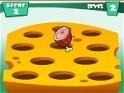 Csapd le a husángal az egereket, he hagyd, hogy Garfield sajtját megegyék!