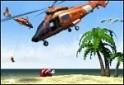 Helikopteres, embermentős meglehetősen szép grafikával.