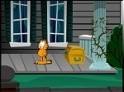 Garfield újabb kalandba keveredett, most azonban egy szellem kastély titkát kell megfejtenie. Ne kerülje el semmi a figyelmedet, légy óvatos!
