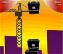 Építs tornyot az óriási tömbökből!