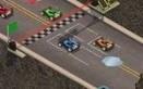 Egyszerű körverseny, Schockwave player kell hozzá.Szint: minél tovább jutsz, annál nehezebb