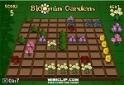 Rakd az egyforma virágokat egy sorba ebben a kedves logikai játékban!
