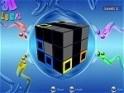 Kösd össze az azonos színeket a Rubik-kockán!
