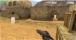 A híres Counter Strike light, internetes változata, gyakorolni, lövöldözni.