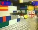 Izgalmas Lego lövöldözés!