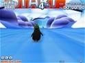 Szánkózás a jégpályán egy pingvinnel!