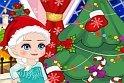 Segíts Elzának, hogy fel tudja díszíteni a fát a karácsonyi játék során! A hercegnős játék alatt még igazán pici lesz, de hát egy igazi Jégvarázs játék felületén ez nem lehet akadály.    Arra vigyázz, ha nem a megfelelő tárgyat v�...