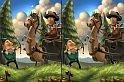 Hogy kerül Robin Hood egy különbségkereső játék felületére? Ingyenes online játék amiből minden kiderül