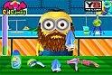 Ez a minyon nagyon lepukant :) , segíts neki, vágd le a szakállát, hogy ápolt lehessen!