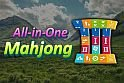 Mahjong nehézségi fokozat, és háttér választással.