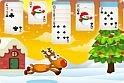 A karácsonyi zene a legjobb alapot szolgáltatja az ünnepi pasziánszhoz.