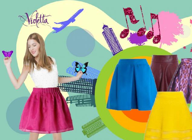 05e8fc2efb Violetta Dress Up Change Skirts - Játssz online! - Startlap Játékok