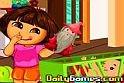 Igazán aranyos Dorás játék veszi kezdetét, ahol főhősünknek egy babára kell vigyázni az online játék ideje alatt.