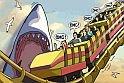 Itt van a népszerű cápás játék legújabb darabja, és a friss online játék ezúttal Los Angelesben fog játszódni!