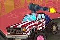 A terroristák után kell nyomulnod az akció játék során, és ebben segítségedre lesz, hogy egy bazi nagy terepjárót kapsz az online játék legelső pillanatától, ami egy komplett gépágyúval lesz felszerelve. Mit szólsz, bejön a kocsis játék?