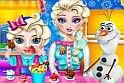 Vajon mennyit tud megenni a pici lány anélkül, hogy lebukna az ovis játékok legújabb darabjában? Segíts neki, hogy minél több édesség férjen belé az online játéksorán.