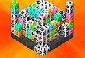 Remekül kivitelezett, kockákra épülő mahjong játék, amelyben  az online játék alatt a nehézségi fokozatokat is megválaszthatod.