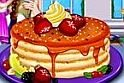 Hihetetlen, de a sütős játék nem tortára van hangolva, hanem palacsintára. Igen, így néznek ki az amerikai palacsinták, és ilyen finomságokat kell elkészítened az online játék végére!