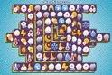 Pofás mahjon, amiben az időjárás-jelentések megszokott ikonjai jelenek meg az online játék felületén.