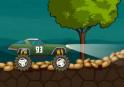 Vezesd Monster Truck-odat át a hegyeken!