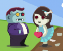 Szerelmes zombikról szóló játék. Hozd össze őket!