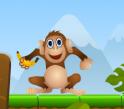 Etesd meg a majmot ágyúd felhasználásával.