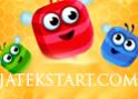 Aranyos online zuhatag játék. Cserélgesd a színes méheket.
