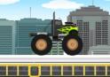 Küzdd le az akadályokat hatalmas Monster Truckoddal!