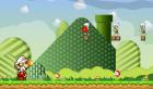 Pusztítsd el a fura lényeket Mario-val! Használd speciális támadásodat.