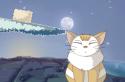 Hozd le a holdat a macskádnak. Így újra világos lehet.