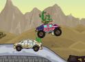 Ugrass Monster Truck-oddal ja és persze lőj! Igazi amerikai buli.