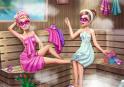 Kísérd el Barbie-t a szaunába. Itt is szépnek kell lenni!