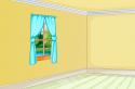 Rendezd be ezt az üres szobát a kedved szerint. Használd a képzeleterődet!