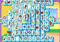 Cuki rajzfilmes mintás mahjong. Mahjongra fel!