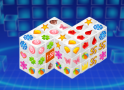 Készülj fel  egy 3D-s mahjongra. Vigyázz igyekezned kell!