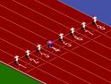 Győzd le a többi atlétát a 100 méteres sprintben!