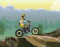 Ugrass száguldj motoroddal. Vigyázz sok sok akadály áll majd az utadba.