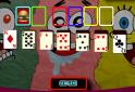 Segíts Spongyabobnak a kártyák sorrendbe rakásában. Mutasd meg pasziánsz tudásod!