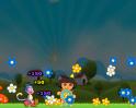 Segíts Dórának a virágok begyűjtésében! Szükséged lesz a buborékpukkasztós tudásodra!