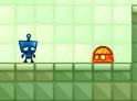 Irányítsd az idegesítő robotot. Vigyázz nem csak a robot idegesítő!