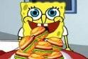 Versenyezz Patrikkal a Spongyabob játék alatt, hogy ki tud több hamburgert megenni az online játék során.