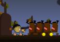 Lövöldözz eszeveszettül! Állítsd meg a fa-zombikat!