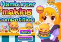 Vegyél részt egy igazi hamburger készítő versenyen! Győzzön a legjobb!